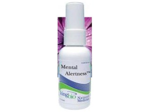 Mental Alertness - KingBio Natural Medicine - 2 oz - Liquid