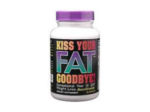 Kiss Your Fat Goodbye - National Health Products - 56 - Capsule