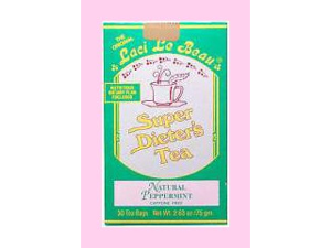 Super Dieters Tea-Peppermint - Laci Le Beau - 30 - Bag