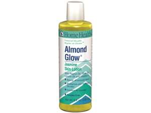 Almond Glow Lotion-Jasmine - Home Health - 8 oz - Liquid