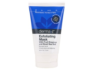 Exfoliating Mask  With Fruit Enzymes and Dead Sea Salt - Derma-E - 4 oz - Lotion