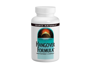 Hangover Formula - Source Naturals, Inc. - 120 - Tablet