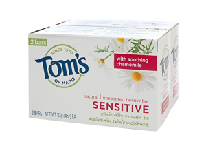 Sensitive Moist Bar Soap Twin Pack - Tom's Of Maine - 2 - Bar