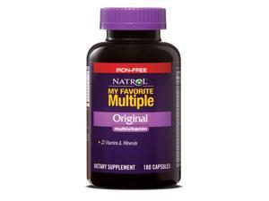 My Favorite Multiple No Iron - Natrol - 180 - Capsule