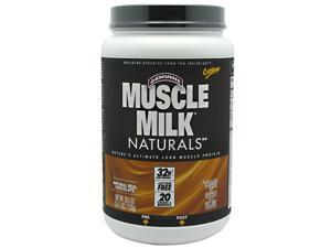 Muscle Milk Naturals Real Chocolate - Cytosport - 2.47 lbs - Powder