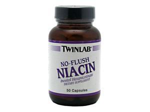 No-Flush Niacin - Twinlab, Inc - 50 - Capsule