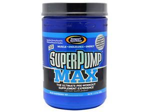 Superpump Max Blue Raspberry - Gaspari Nutrition - 800 g - Powder