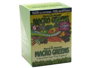Macro Greens - Macrolife Naturals - 12 - Packet