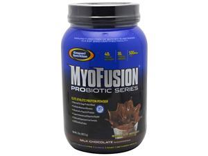 MyoFusion Probiotic Series - Milk Chocolate - Gaspari Nutrition - 2 lbs (907 - Powder
