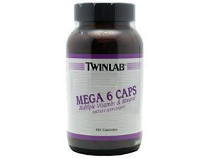Mega 6 Caps - Twinlab, Inc - 180 - Capsule