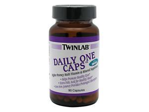 Daily One With Iron - Twinlab, Inc - 90 - Capsule