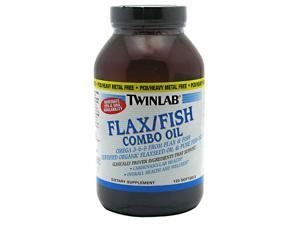 Flax Fish Combo Oil Softgels - Twinlab, Inc - 120 - Softgel