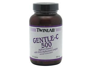 Gentle-C 500 With Bioflavonoids - Twinlab, Inc - 100 - Tablet