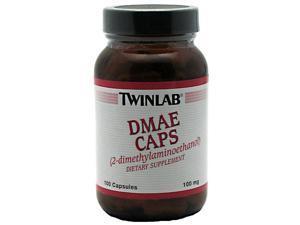 DMAE (Dimethylaminoethanol) 100mg - Twinlab, Inc - 100 - Capsule