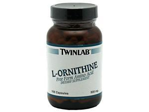 L-Ornithine 500mg - Twinlab, Inc - 100 - Capsule