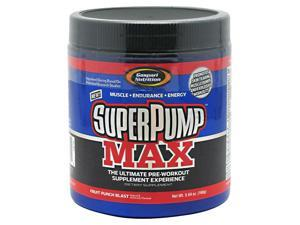 SuperPump Max Fruit Punch Blast - Gaspari Nutrition - 5.64 oz (160 g) - Powder