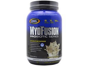 MyoFusion Probiotic Series - Cookies & Cream - Gaspari Nutrition - 2 lb - Powder