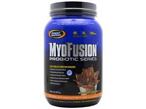 MyoFusion Probiotic Series - Chocolate Peanut Butter - Gaspari Nutrition - 2 lb - Powder