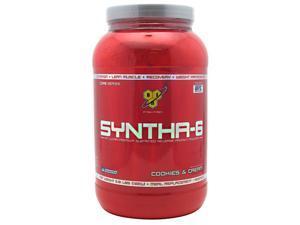 Syntha-6 Cookies N Cream - BSN - 2.91 lb (1320 g) - Powder
