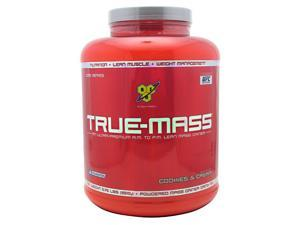 True-Mass, COOKIES & CREAM, 5.75 lbs, True Mass, From BSN