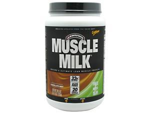 Muscle Milk Chocolate Banana Crunch, Burn Fat, 2.4 lb, From CytoSport