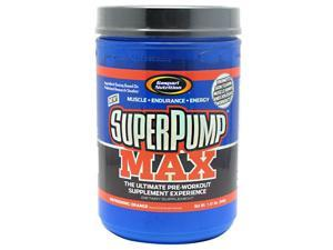 SuperPump MAX Refreshing Orange - Gaspari Nutrition - 1.41 lb - Powder