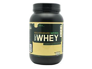 100% Whey Gold Standard Natural - Vanilla - Optimum Nutrition - 2.0 lbs. - Powder