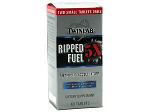 Ripped Fuel 5 X - Twinlab, Inc - 40 - Tablet
