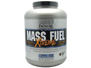 Mass Fuel Extreme Chocolate - Twinlab, Inc - 5.95 lb - Powder