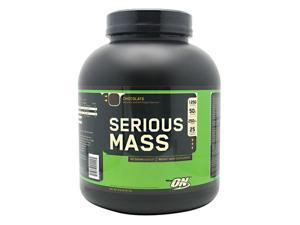 Serious Mass - Chocolate SF - Optimum Nutrition - 6 lbs - Powder