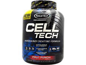 Performance Series Cell-Tech  Fruit Punch - Muscletech - 6 lb - Powder