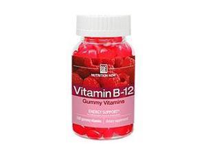 Vitamin B12 Gummy Vitamins - Nutrition Now - 100 - Chewable