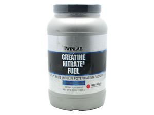 Creatine Nitrate3 Fuel Fruit Punch - Twinlab, Inc - 4.2 lb - Powder