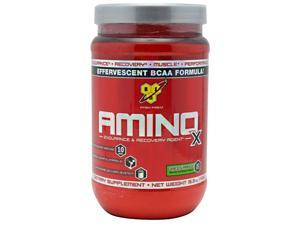 Amino X Green Apple - 30 Servings (15.3 oz / 435 Grams) by BSN
