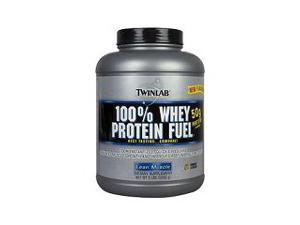 100% Whey Protein Fuel Cookies and Cream - Twinlab, Inc - 5 lbs - Powder