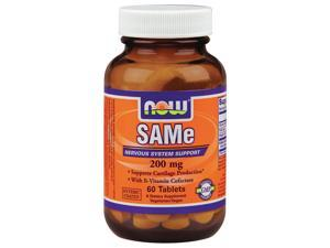 SAMe 200mg - Now Foods - 60 - Tablet