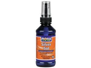 Silver Sol Liquid Spray - Now Foods - 4 oz - Spray