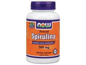 Spirulina 500mg - Now Foods - 120 - VegCap