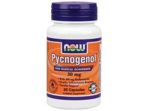 Pycnogenol 30mg - Now Foods - 30 - Capsule