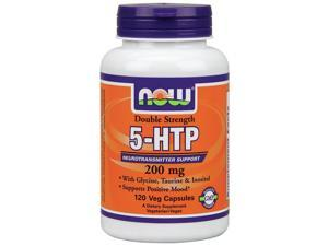 5-HTP 200 mg - Now Foods - 120 - VegCap