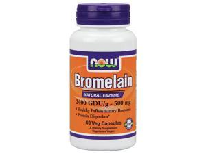 Bromelain 2,400 GDU - 500mg - Now Foods - 60 - VegCap