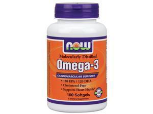 Now Foods, Omega-3 100 Softgels