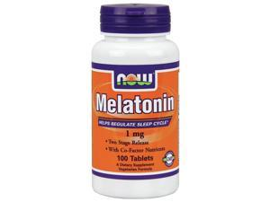 Melatonin 1mg With B3, B6 & Magnesium Time Release - Now Foods - 100 - Sustained Release Tablet