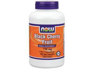 Black Cherry Fruit Extract - Now Foods - 180 - VegCap