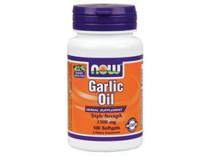 Garlic Oil 1500mg - Now Foods - 100 - Softgel