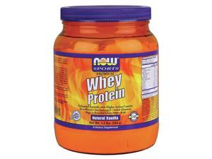 Whey Protein Vanilla - Now Foods - 1.2 lbs - Powder