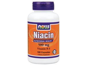 Niacin 500mg - Now Foods - 100 - Capsule