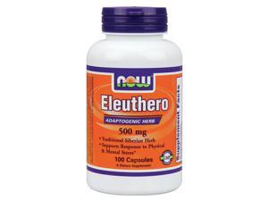 Eleuthro (Siberian Ginseng) 500mg - Now Foods - 100 - Capsule
