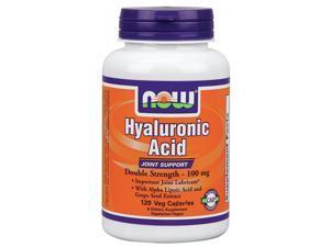 Hyaluronic Acid 100 mg - Now Foods - 120 - VegCap