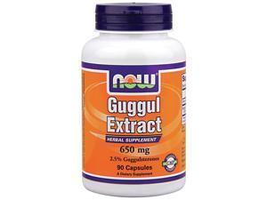 Guggul Extract 750mg - Now Foods - 90 - Capsule